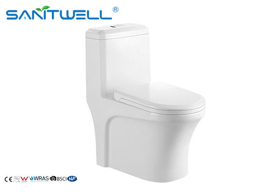 China Toalete cerâmico do flusher lateral sanitário famoso da água do WC de Siphonic do tipo fábrica